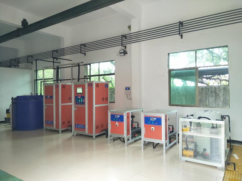 湖南某化工有限公司清水池消毒项目